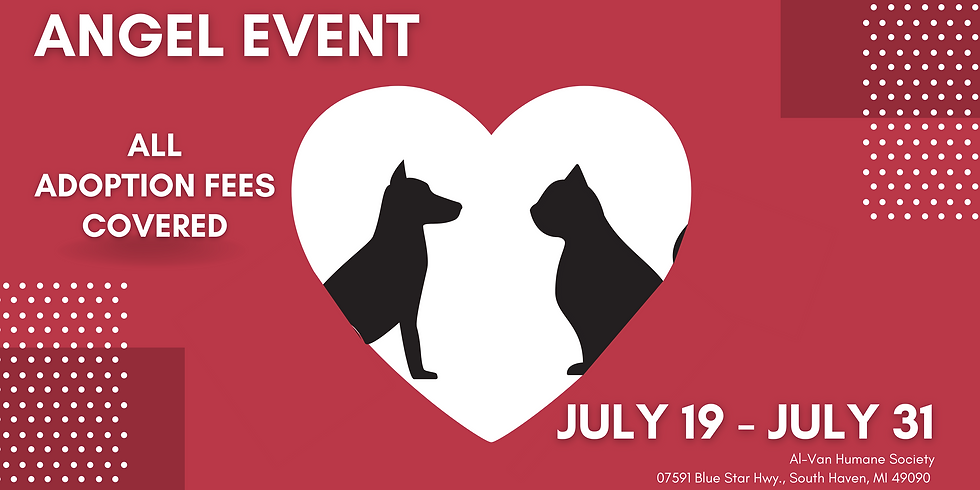 Angel Event - All Adoption Fees Covered