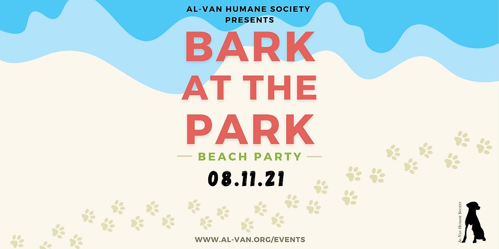 Bark at the Park Beach Party