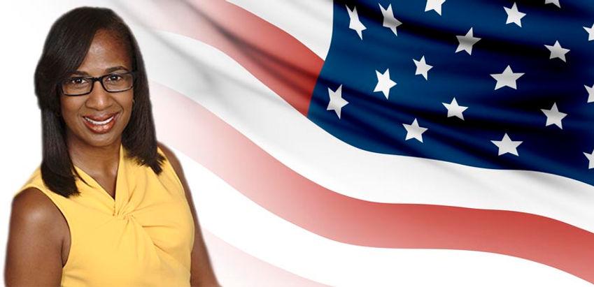 Jenifer with flag.jpg
