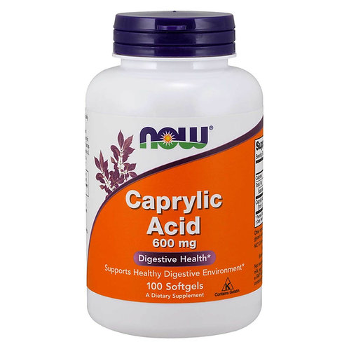 ÁCIDO CAPRILICO NOW: eficaz tratamiento de CANDIDIASIS (Cándida Albicans)