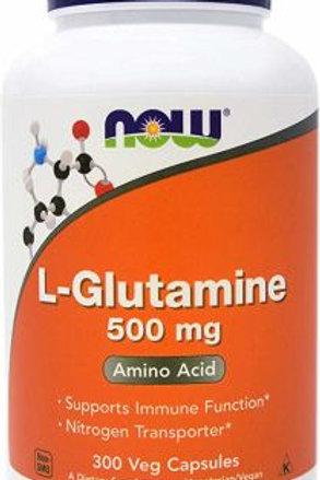 L - GLUTAMINA 500 mg: Sistema Inmune sano, crecimiento