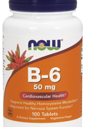 VITAMINA B-6 NOW: Sistema Inmune, Anti Edad