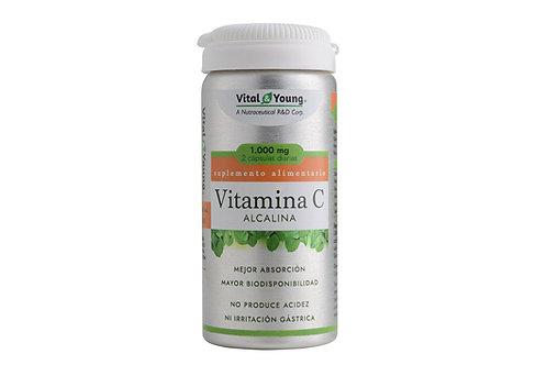 VITAMINA C ALCALINA + ZINC: Inmunidad, piel, pelo...saludables