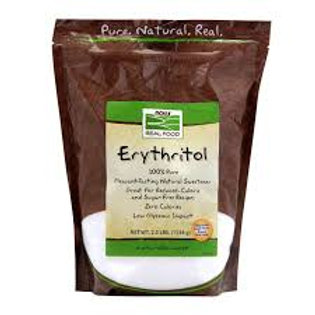 ERYTHRITOL NOW POLVO (454 GR): Endulzante natural