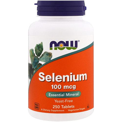SELENIO NOW 100 y 200 mcg: protección antioxidante, equilibrio inmunitario.