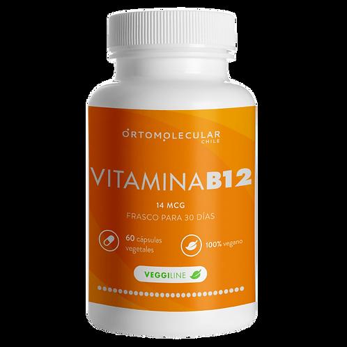 VITAMINA  B12  (60 Cápsulas): anemia, enf. autoinmunes...