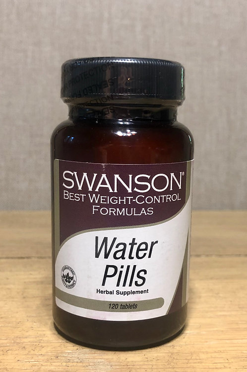 WATER PILLS, Diurético Natural Swanson