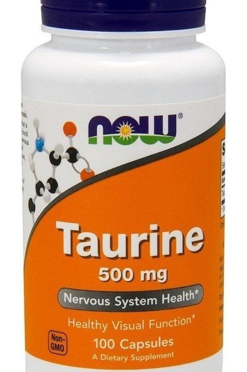 TAURINA NOW: Salud cardíaca, ocular