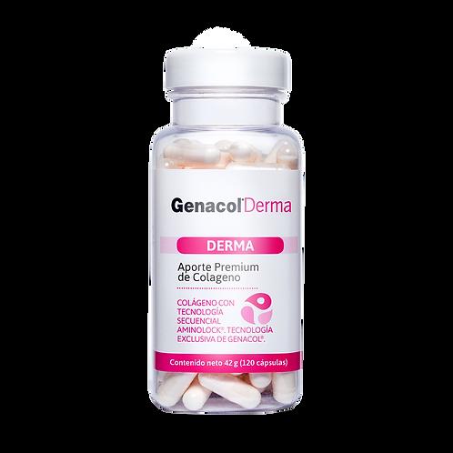 GENACOL DERMA:  Colágeno+ Lisina  belleza y cuidado de la piel
