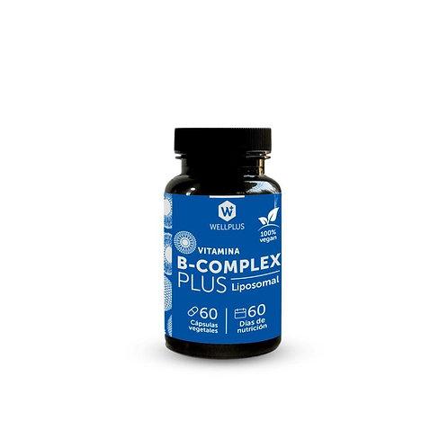 COMPLEJO VITAMINICO B ACTIVO LIPOSOMAL B1, B2, B3, B5, B6, B9, B12 y Biotina
