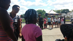 East HS residents for B2S event
