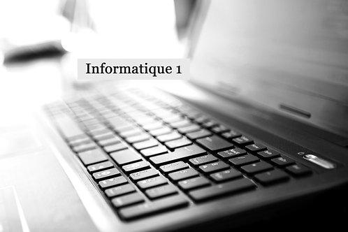 Informatique UN
