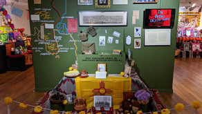 Ofrenda commemorating the life of Fernando Gomez Jr. and soldiers serving in Pacific War of WWII