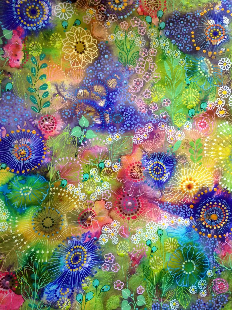 bloom sur papier