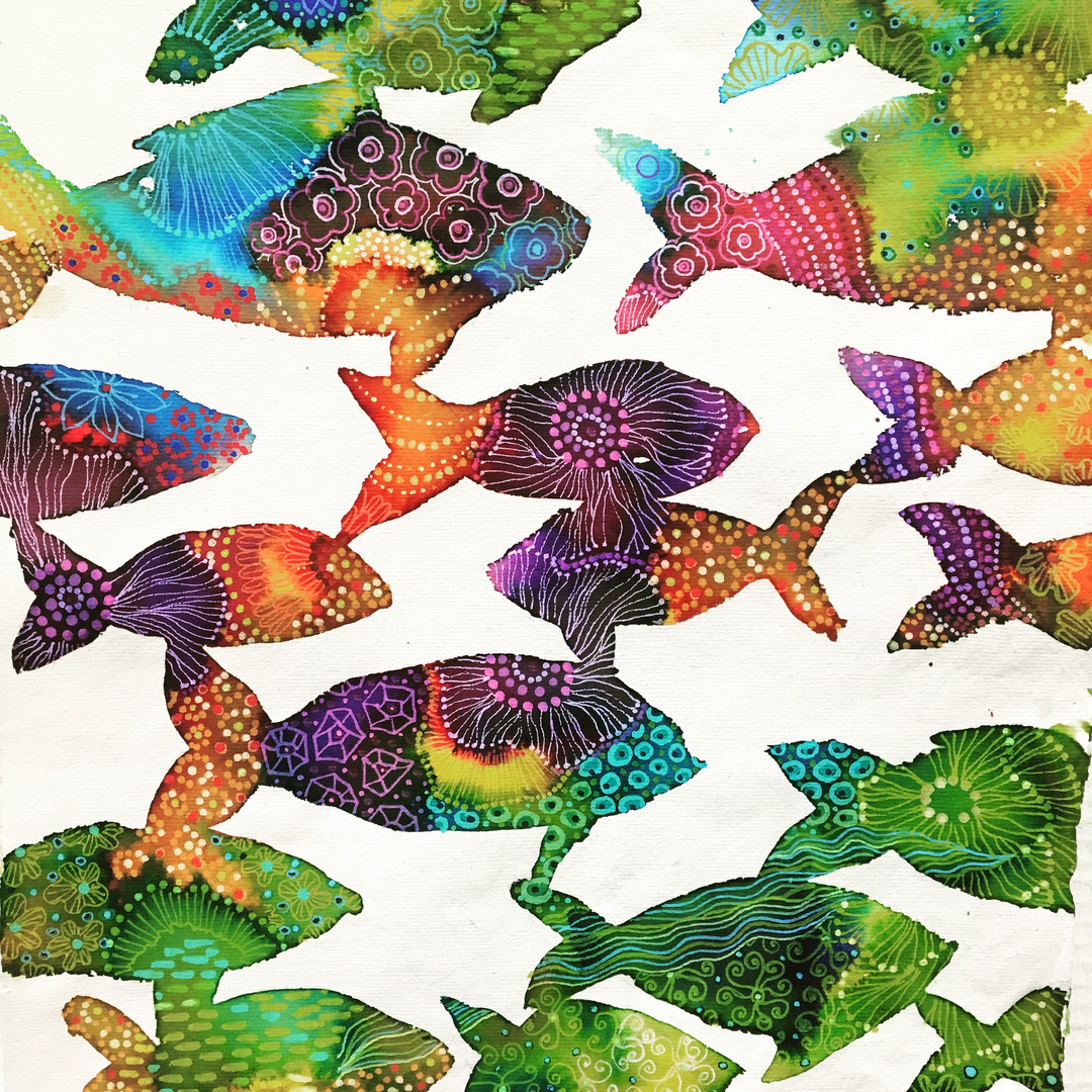 flower fishes #2