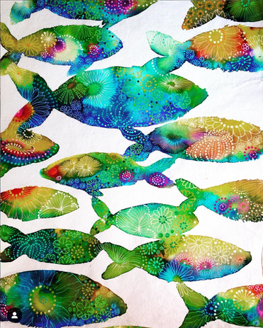 flower fishes #1