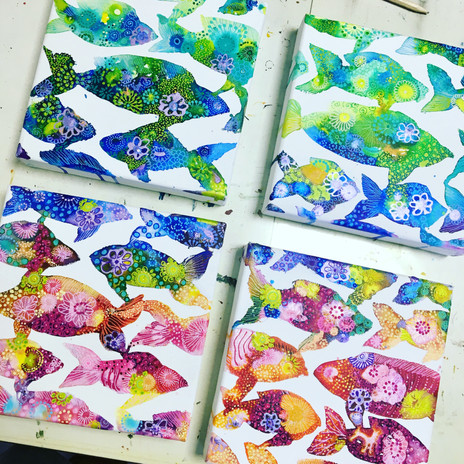Fishes 40x40