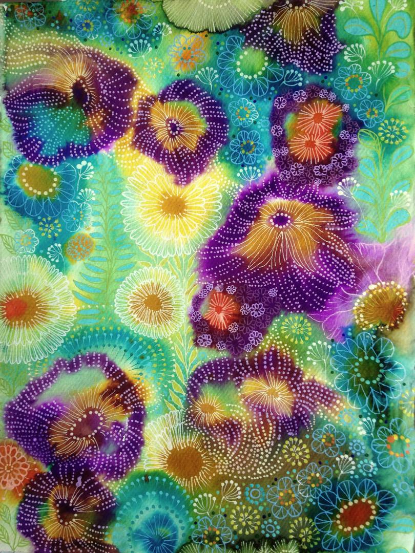 Jelly flowers #1