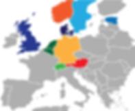 KODA Europe Map