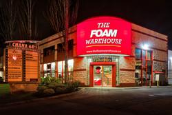 Foam Warehouse Iluminated Awning