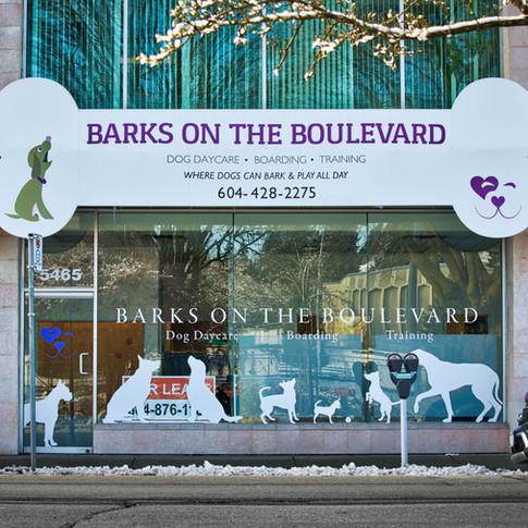Barks on the Boulevard Custom Graphics