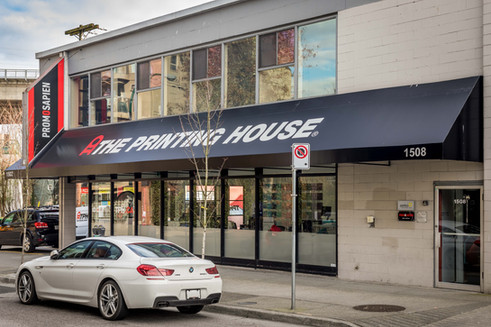 The Printing House 4 point Awning