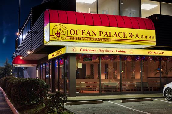 Ocean Palace Quarter Barrel Awning