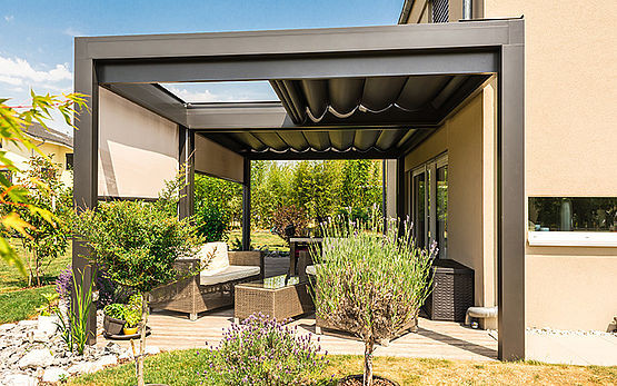 Retractable Patio Enclosure