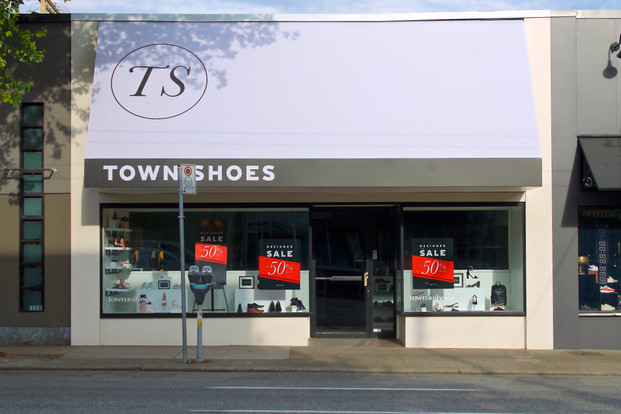 Town Shoes Awning
