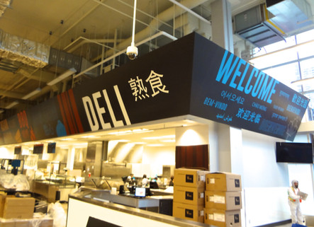 Digital Print Department Signs by Awnings West
