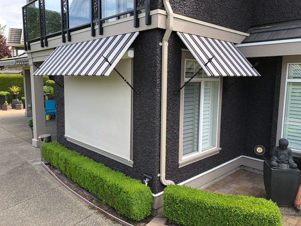 Residental Fixed Awnings