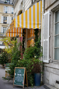 Storefront Awning for Film