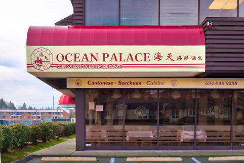 Ocean Palace Quarter Barrel Awning Day