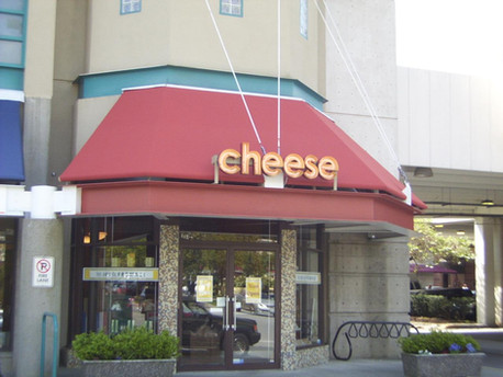 Custom Vancouver Awning Frame and Sign
