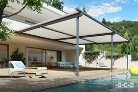 Pergolino Retractable Awning Structure