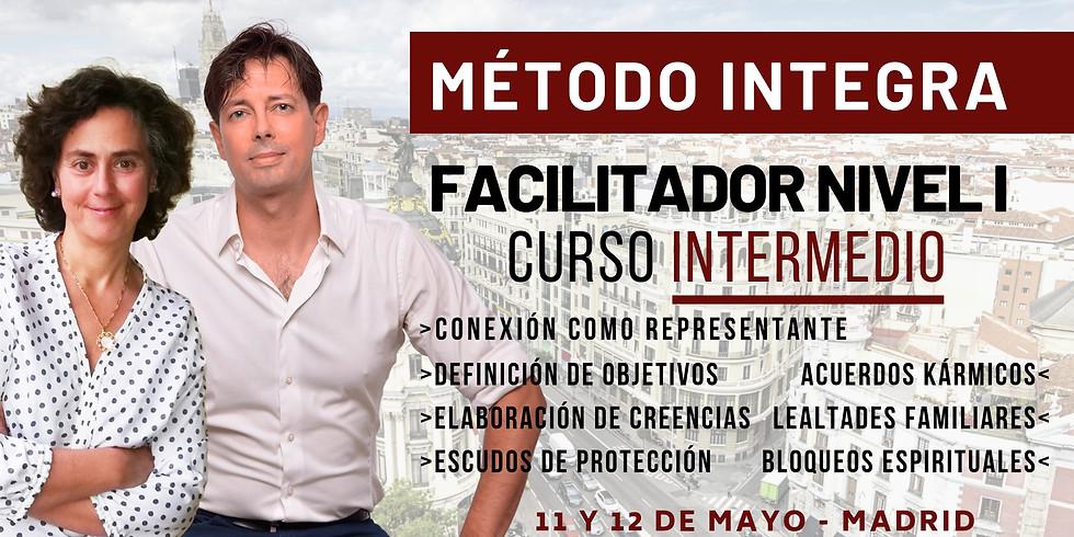 MAYO 11 Y 12 - CURSO INTERMEDIO DE FACILITADOR NIVEL I MÉTODO INTEGRA