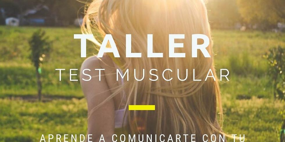 09/04 - TALLER ONLINE: TEST MUSCULAR