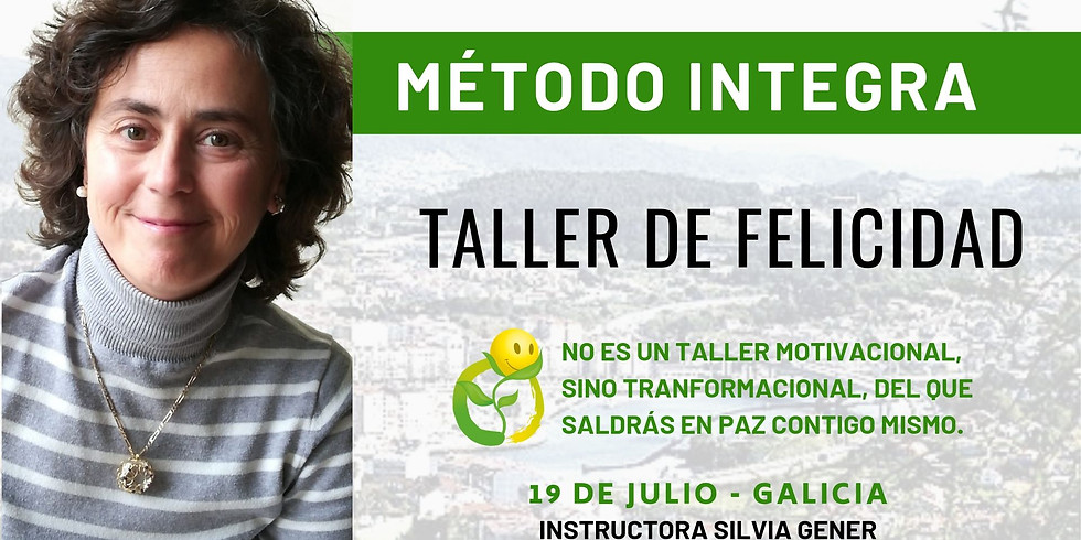 JULIO 19 | TALLER DE FELICIDAD GALICIA