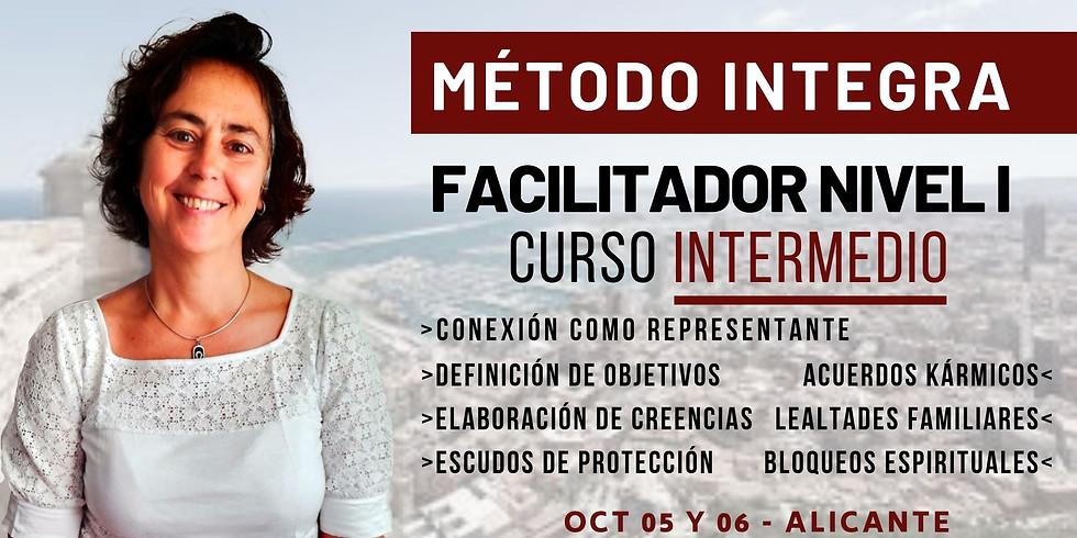 OCTUBRE 05 Y 06   CURSO INTERMEDIO DE FACILITADOR NIVEL I MÉTODO INTEGRA