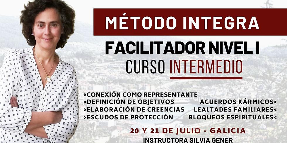 JULIO 20 Y 21 | CURSO INTERMEDIO DE FACILITADOR NIVEL I MÉTODO INTEGRAeee