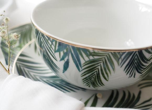 Emerald Paradise Set of Four Bowls
