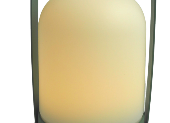 Sage Green Battery Operated Lamp