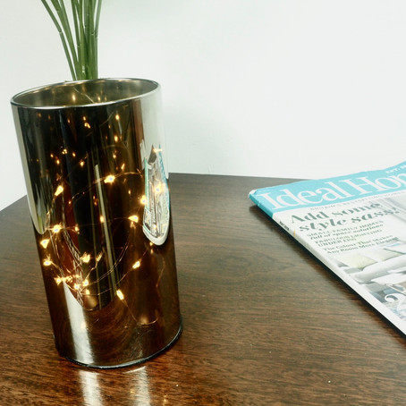 The Smoky LED cylinder light is back in stock