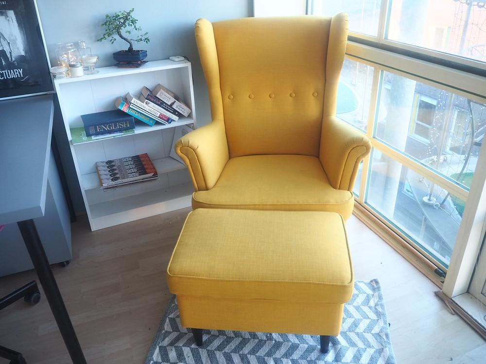 Ikea Strandmon wingback chair