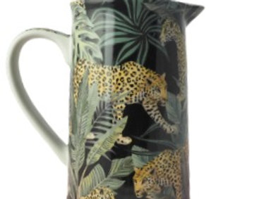 Jungle Cheetah Fine China Jug