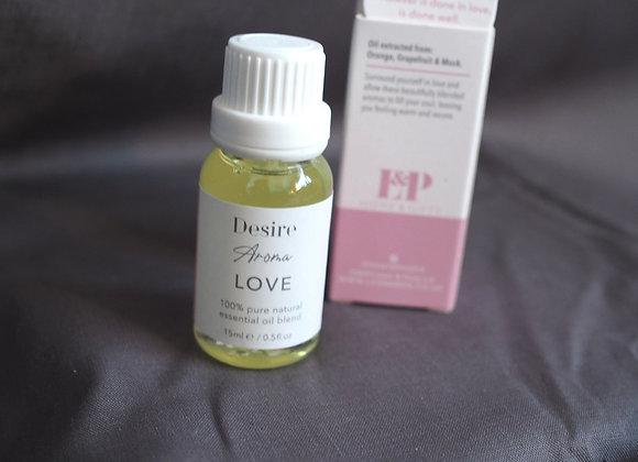 'Love' - Orange, Grapefruit and Musk essential oil