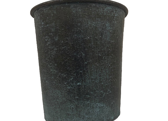 Antique Grey Broste Copenhagen Iron Plant Pot