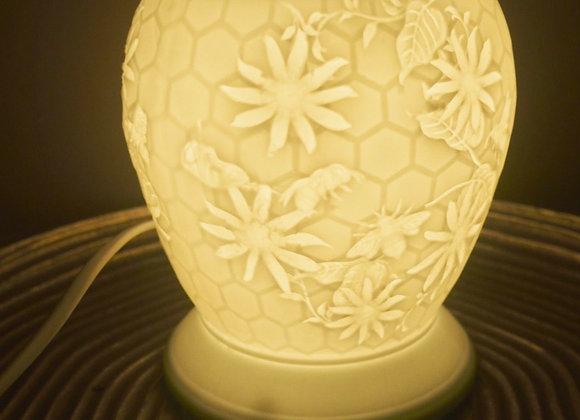 Bee Ceramic Aroma Lamp and Wax Melt Warmer