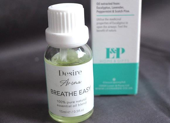 'Breathe Easy' - Eucalyptus, Lavender, Peppermint and Scotch Pine essential oil