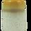 Thumbnail: Solaris yellow and cream speckled ceramic bud vase